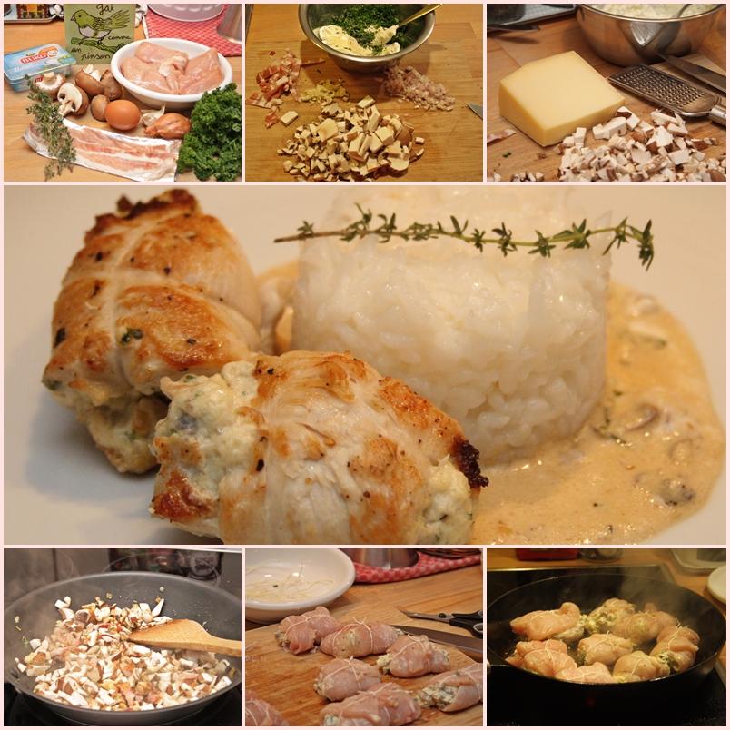 pilzkuchen mit hackfleisch